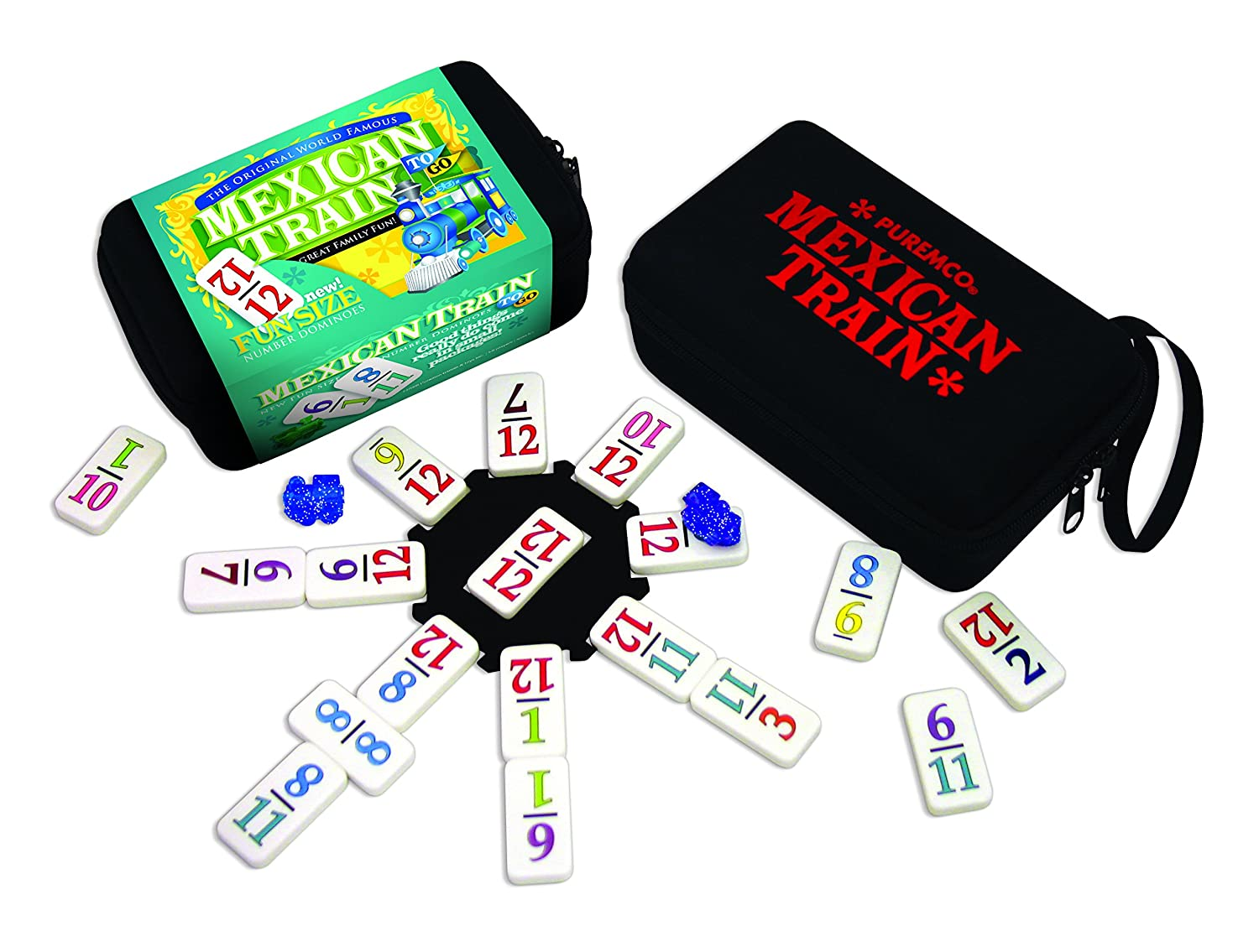 University Games Mexican Train To-Go Game