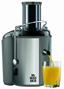 Big Boss 700-Watt Juicer, 18,000 RPM Wide Mouth & Vegetable Juice Extractor- Stainless Steel