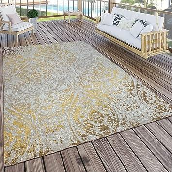 Fabulous Paco Home In- & Outdoor Teppich Modern Shabby Chic Stil Terrassen QZ49