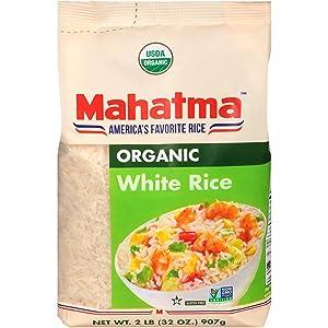 Mahatma Organic White Rice, 2 lb.