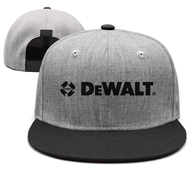 8173ae946 Amazon.com: Unisex Dad Cap Trucker-DeWalt-Logo-Hat Casual Breathable ...
