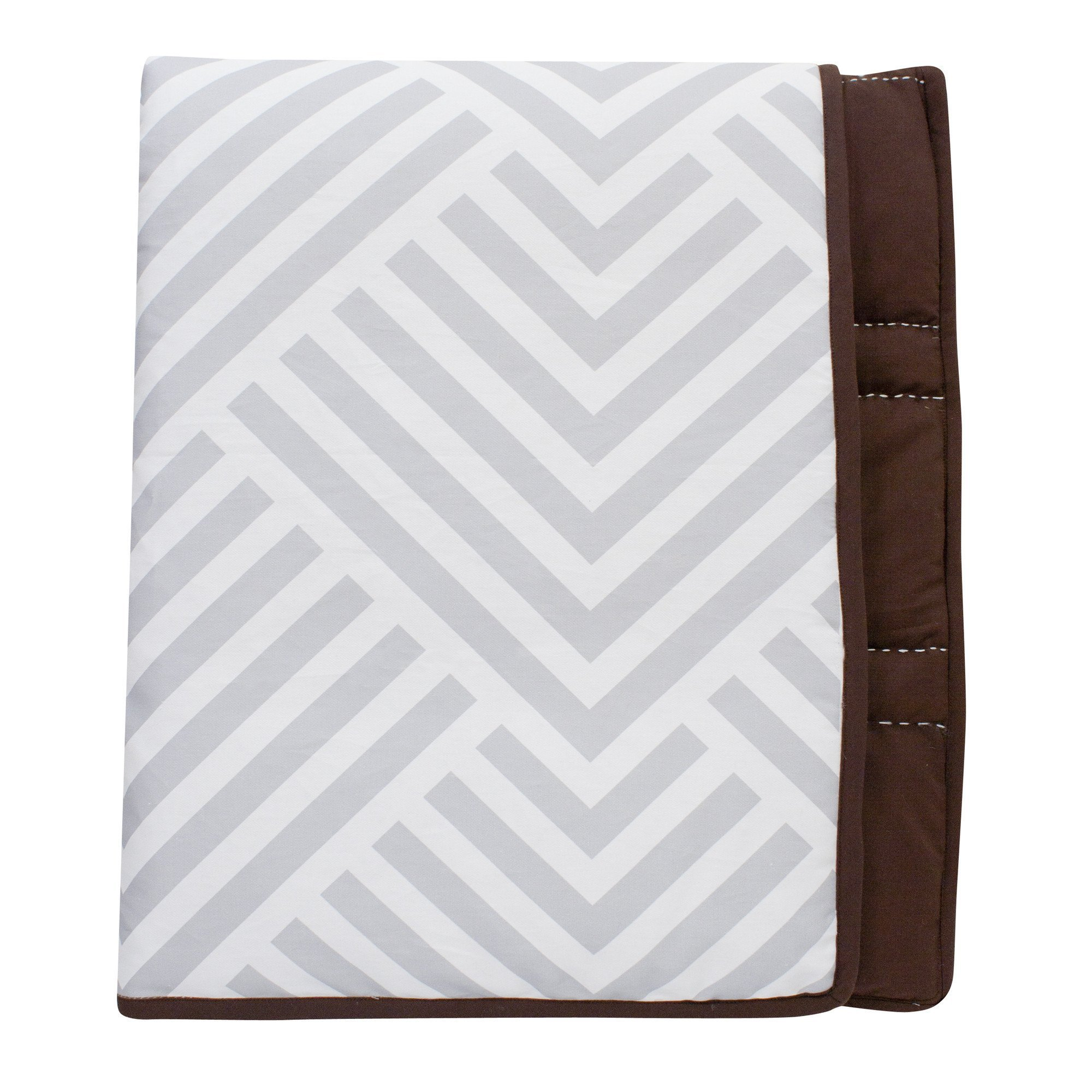 Lambs & Ivy Mix and Match Jett Reversible Coverlet