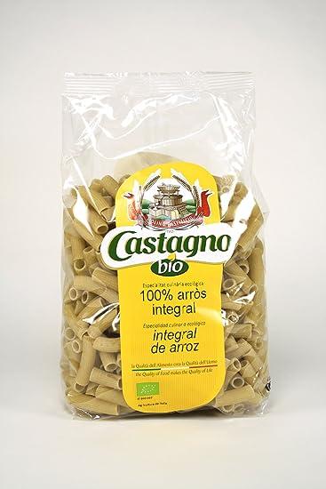 Macarrones bio de arroz integral, 500 g