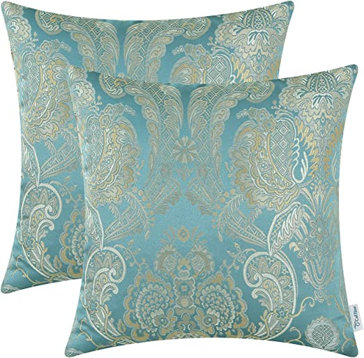 Amazon Com Calitime Pack Of 2 Supersoft Throw Pillow Covers Cases