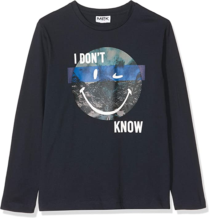 MEK Boys T-Shirt Jersey Long Sleeve Top