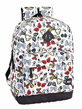 Safta Mochila Escolar Minnie Mouse Icons Oficial 320x140x430mm: Amazon.es: Equipaje