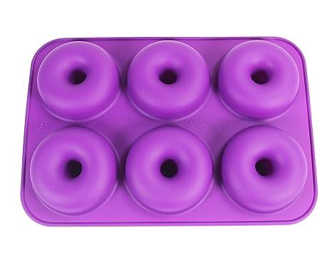 Amazon.com: Silicona charola para hornear Donut, kootips ...