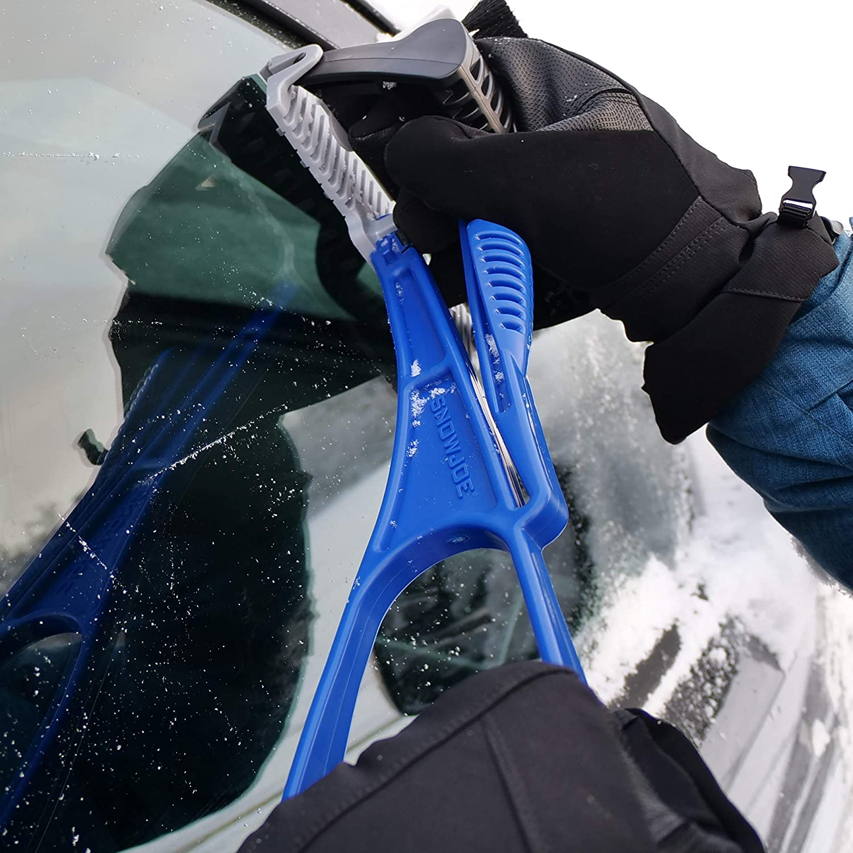 Ice Breaking Teeth Snow Joe SJEG-DZ-PRO Ice Dozer Ice and Snow Scraper Bristle Brush Attachment