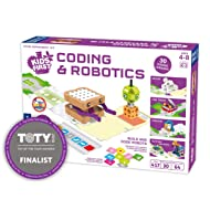 Thames & Kosmos 567012 Kids First Coding & Robotics Science Experiment Kit