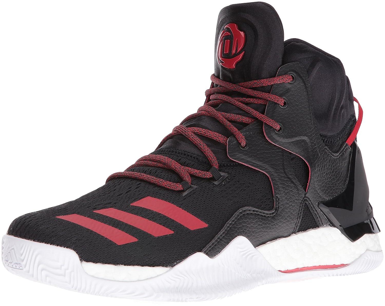 adidas Men's D Rose 7 Basketball Shoe B01ABCPGJQ 10 D(M) US Black/Scarlet/Black