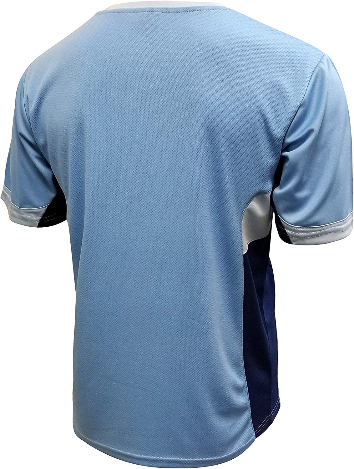 Manchester City Jersey Soccer Men Training Athletic fit Custom Name and Number Licensed