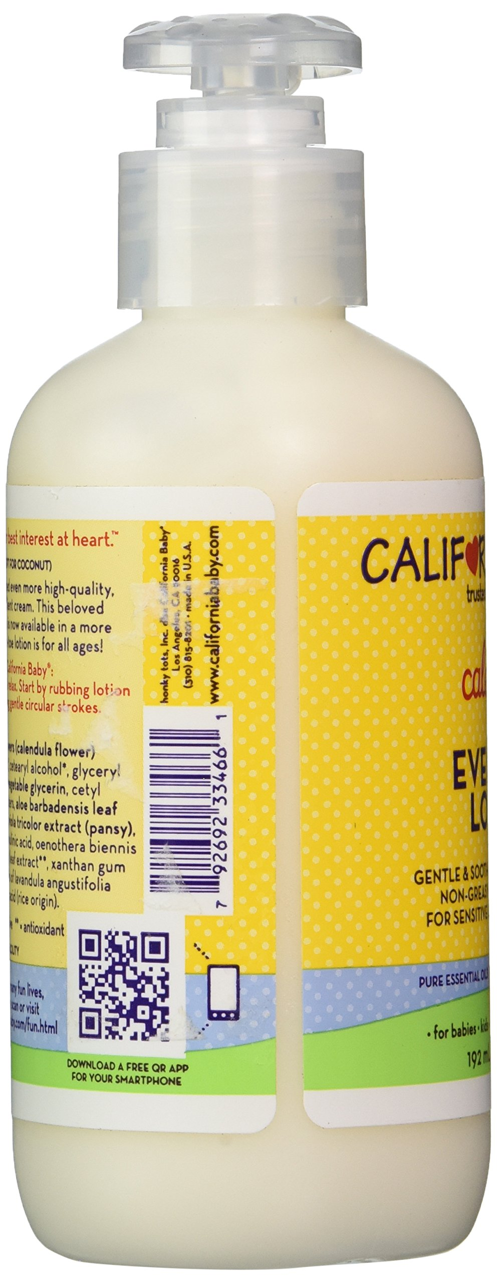 California Baby Everyday Calendula Lotion, 6.5 Ounce by California Baby (Image #4)