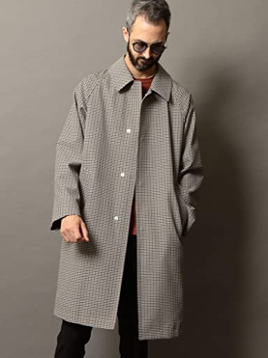 Gun Club Check Coat 1225-139-8517: Beige