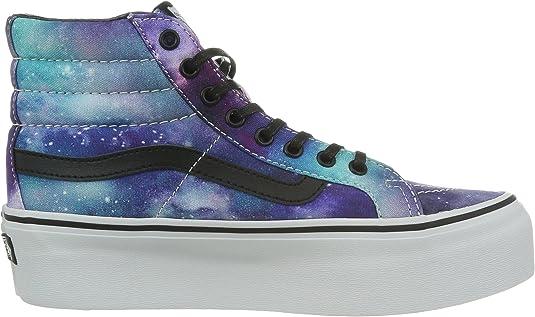 Vans Sk8 Hi Platform chaussures 5,0 cosmic galaxy: