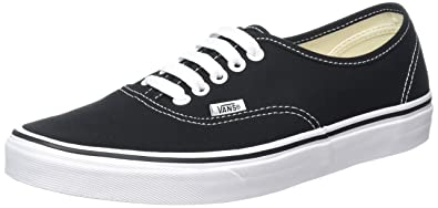516bae05ad0 Vans Kid s Shoes Authentic Black  True White Fashion Sneakers (2 M Little  Kid s)