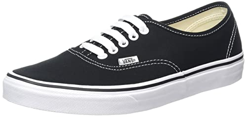 Nero 45 VANS AUTHENTIC SNEAKER UNISEX ADULTO BLACK/WHITE EU Nuovo Scarpe