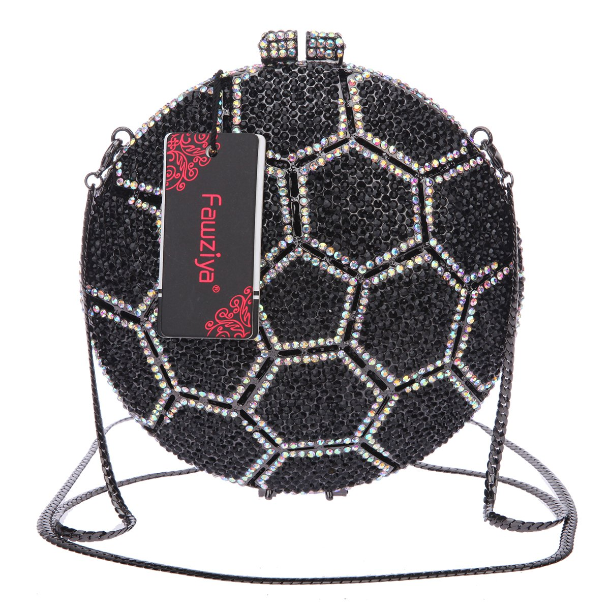 Amazon.com: fawziya Balón de fútbol Crystal embrague ...