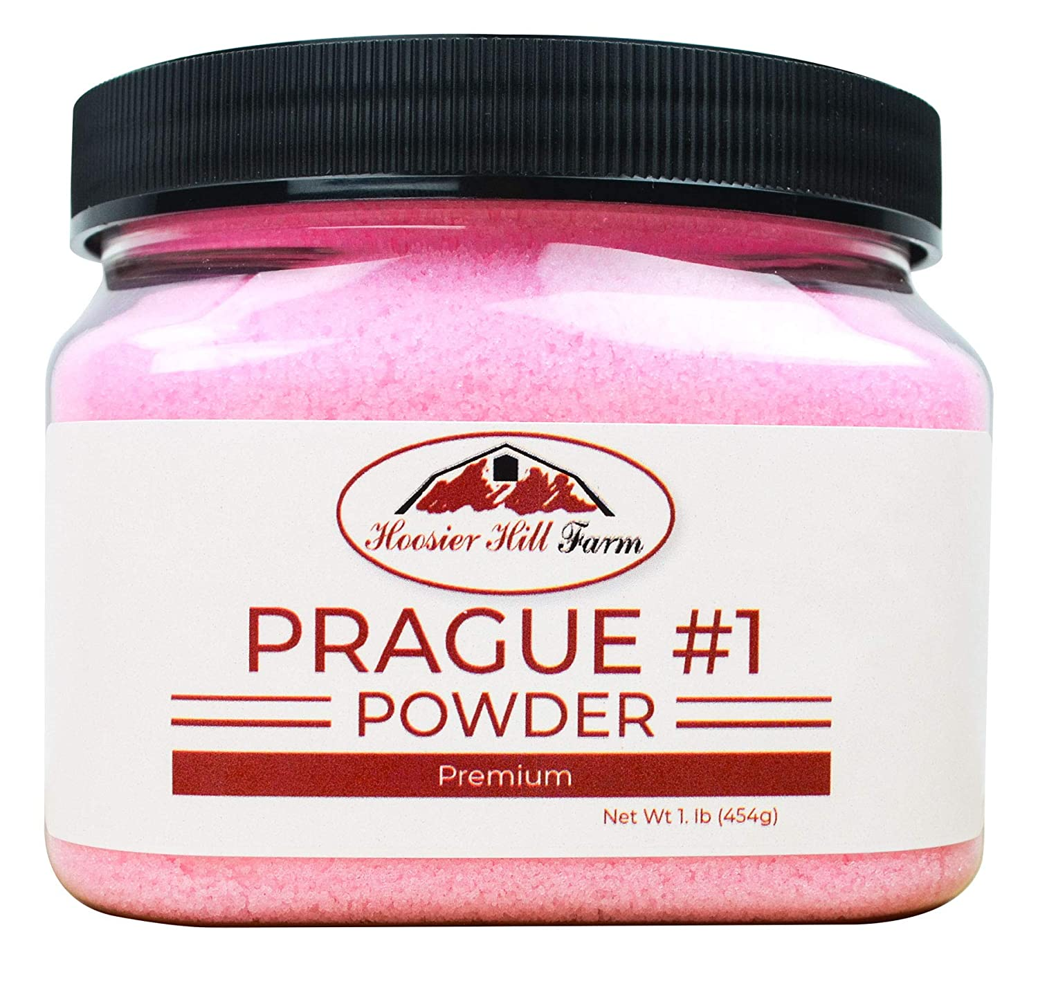 Hoosier Hill Farm Prague Powder Curing Salt, Pink, 1 Pound (Packaging may vary) : Coarse Salts : Grocery & Gourmet Food