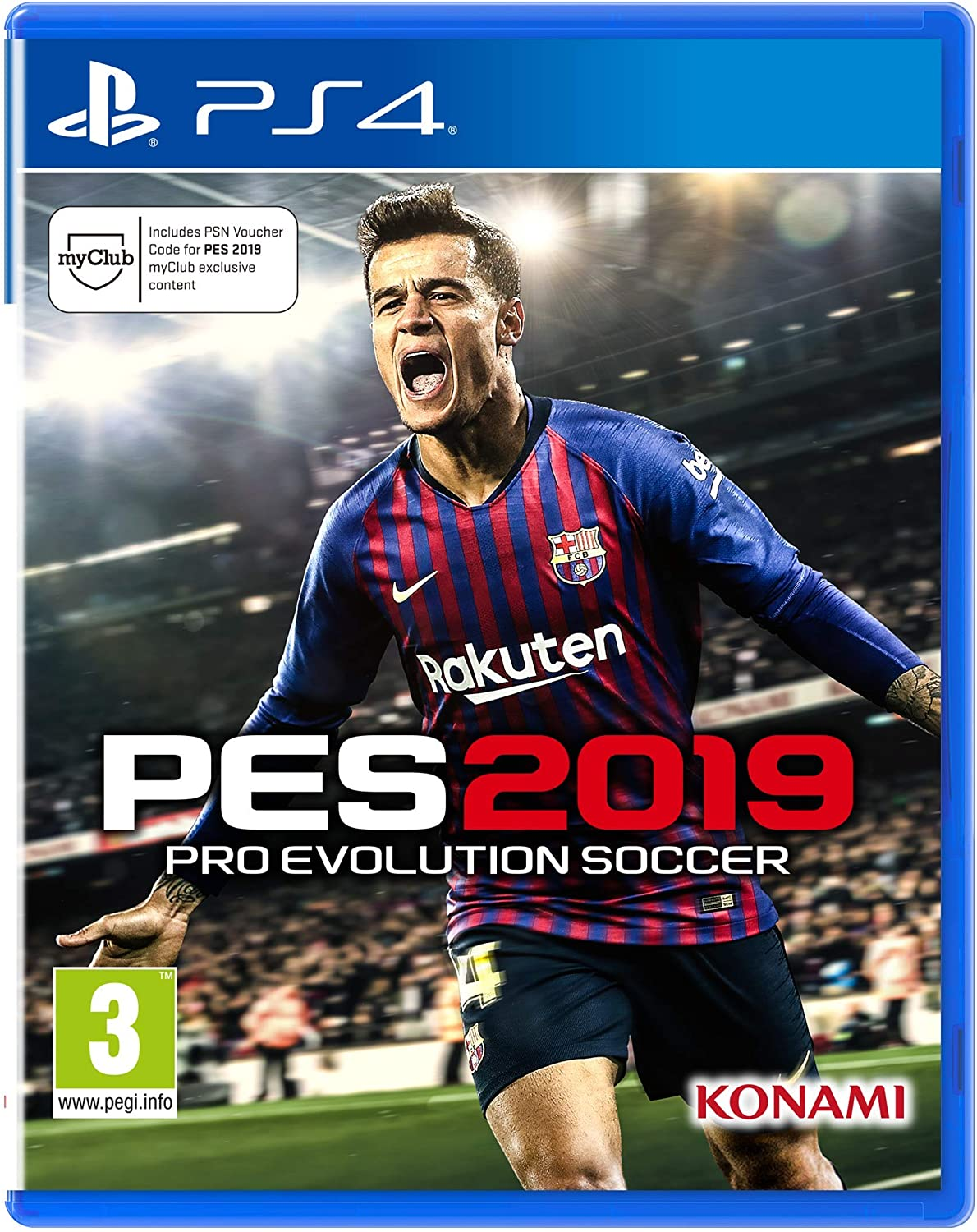 Pro Evolution Soccer 2019 - PlayStation 4 [Importación inglesa]: Amazon.es: Videojuegos