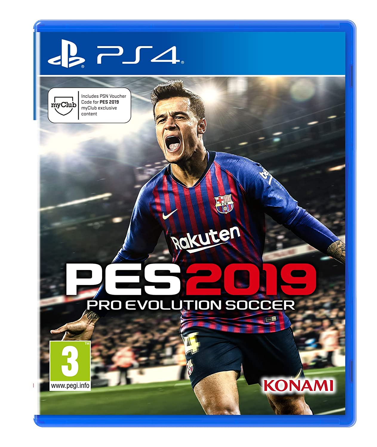 d31a0e66360d Pro Evolution Soccer 2019 (PS4)  Amazon.co.uk  PC   Video Games