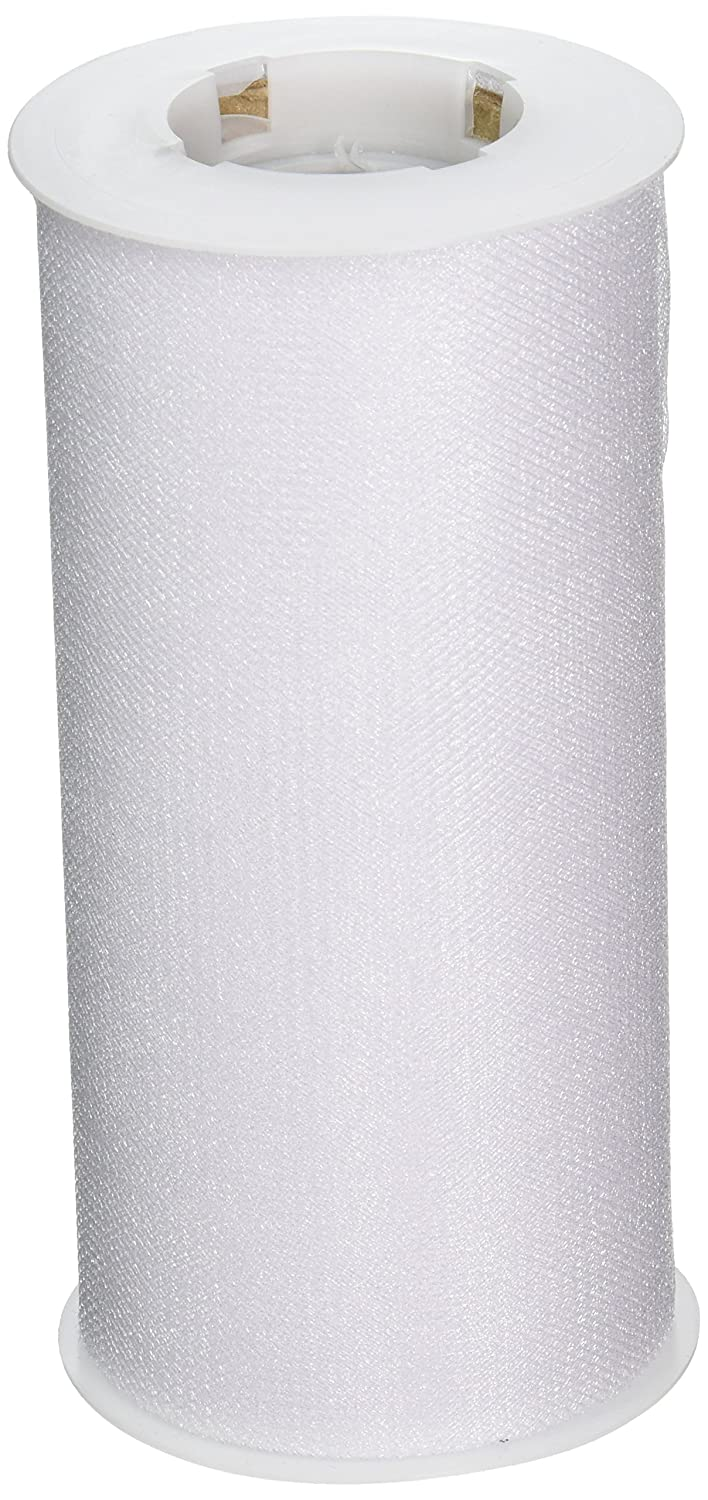 Expo Shiny Tulle Spool of 25-Yard, White Expo International Inc. TL2402WH