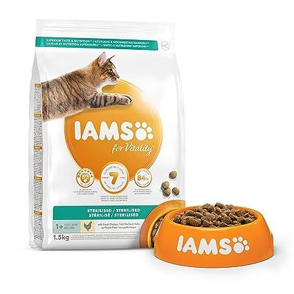 IAMS for Vitality Light in Fat/Esterilizado Alimento para ...