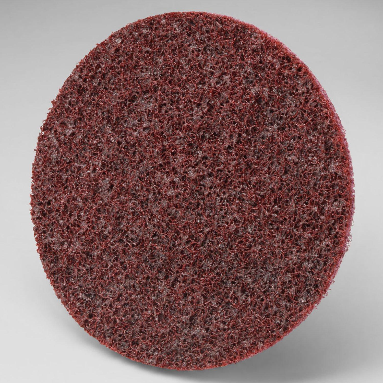 3M Scotch-Brite Roloc Disc SC-DR, Aluminum Oxide, 4'' Diameter, TR, MED Grit - Lot of 25