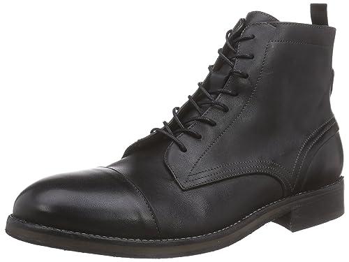 9e032a79b37 Hudson Palmer Drum Dye, Men's Ankle Boots, Black, 6 UK: Amazon.co.uk ...