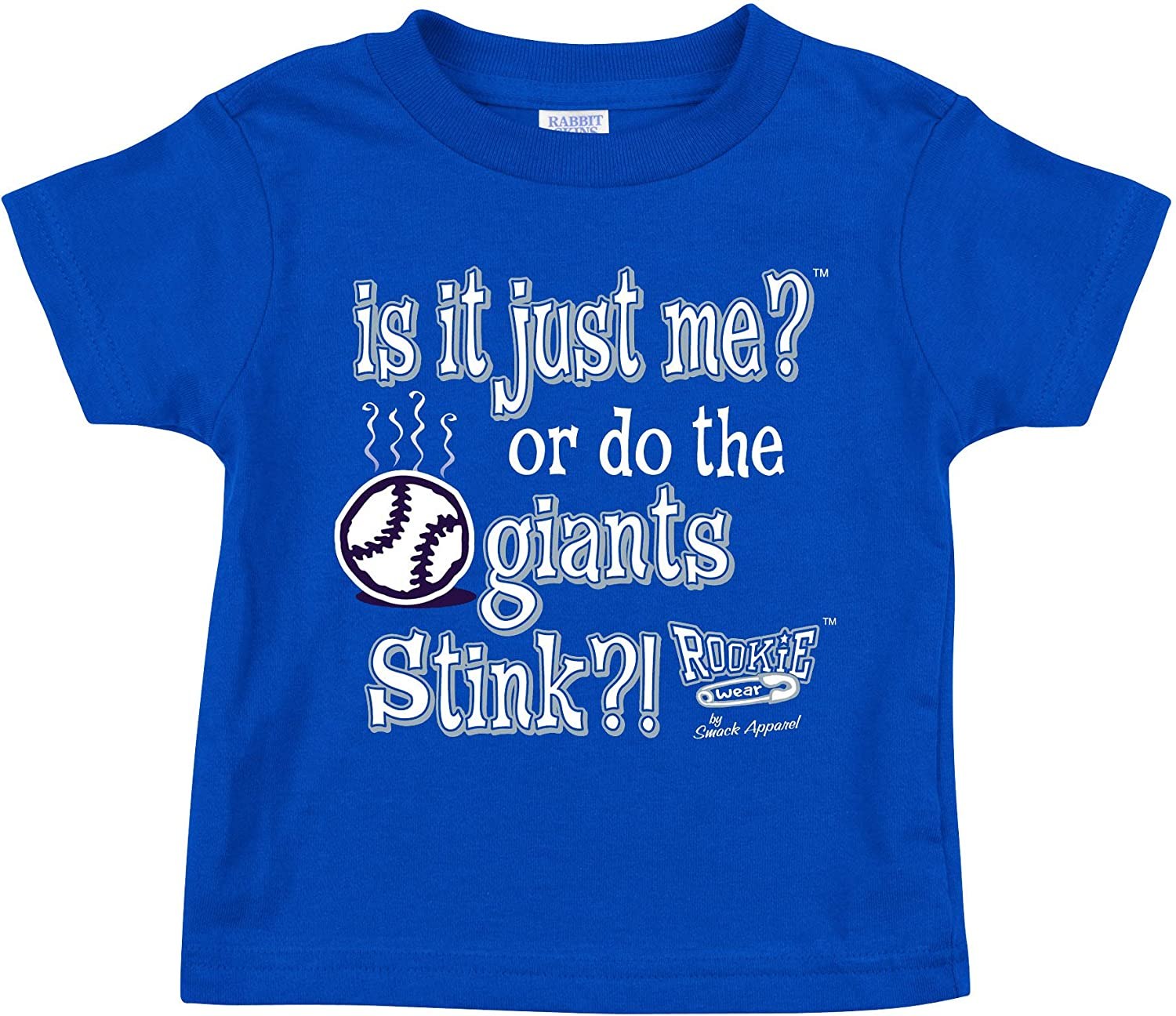 Royal Onesie or Toddler Tee Anti-Giants Smack Apparel Los Angeles Baseball Fans NB-4T is it Just Me?