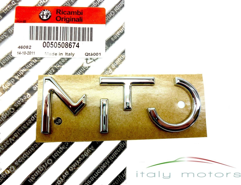 Original Alfa Romeo Mito Mito Schriftzug Modellzeichen Emblem Heck 50508674 Auto