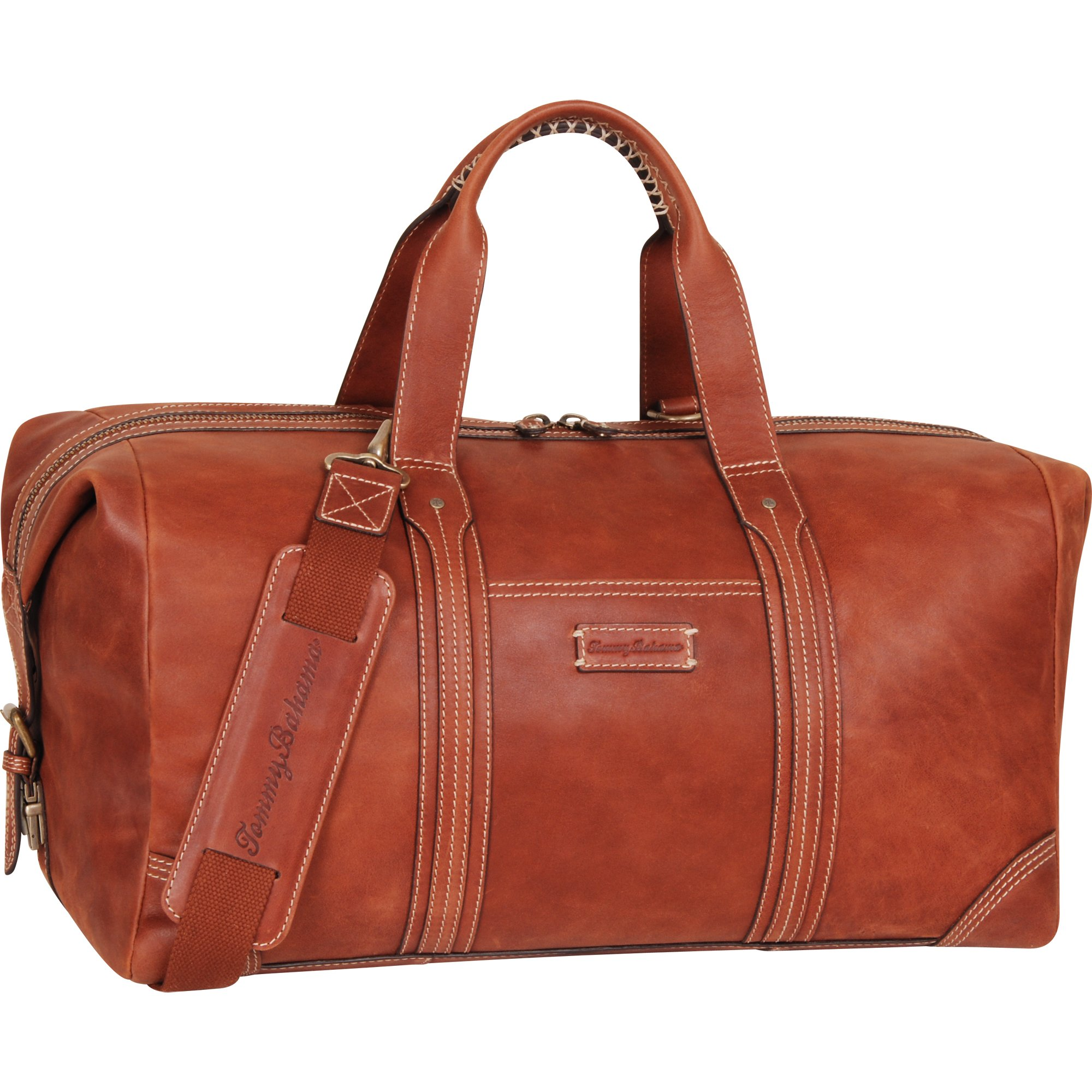 Tommy Bahama Travel Carry Duffle Bag, Tan