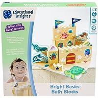 Educational Insights Bath Blocks de Bright Basics