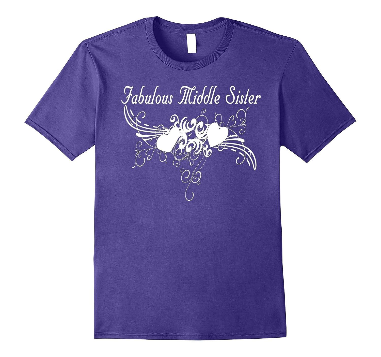 Mens Fabulous Middle Sister Gift-Samdetee