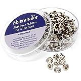 Eisenthaler 250 Ösen SET30-3.2mm, vernickelt für 2-10 Blatt