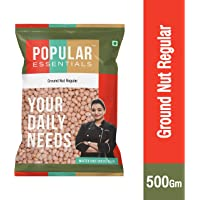 Popular Essentials Regular Ground Nut Pouch, 500 g