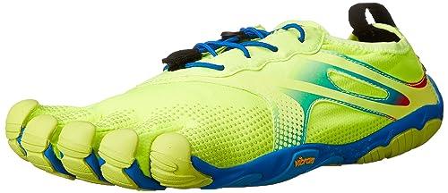 Vibram Fivefingers Running Bikila EVO, Escarpines para Hombre, Amarillo/Azul, 40 EU: Amazon.es: Zapatos y complementos