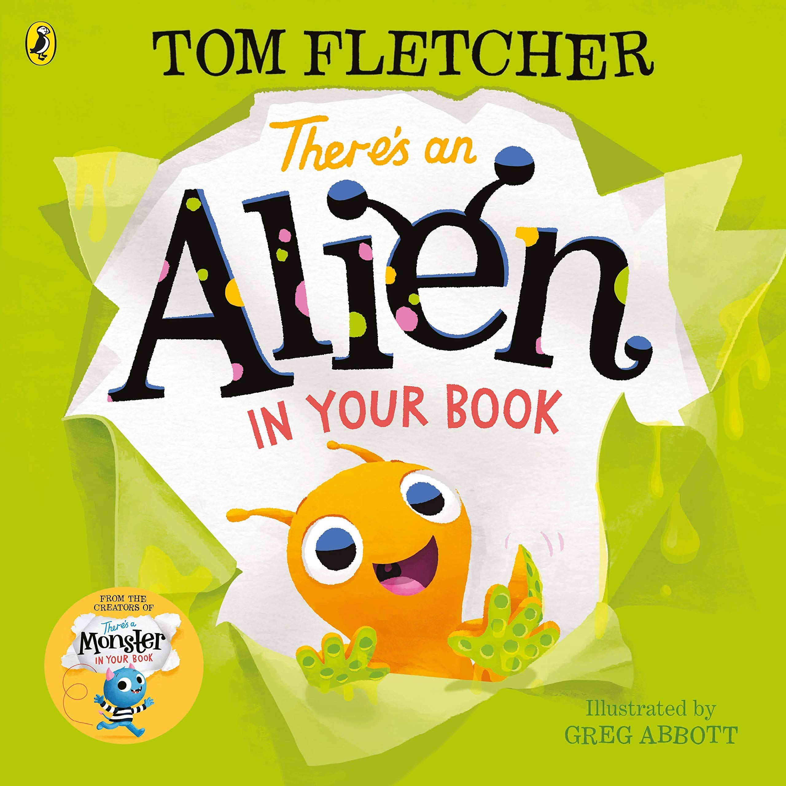 Cover: Tom Fletcher There's an Alien in your book