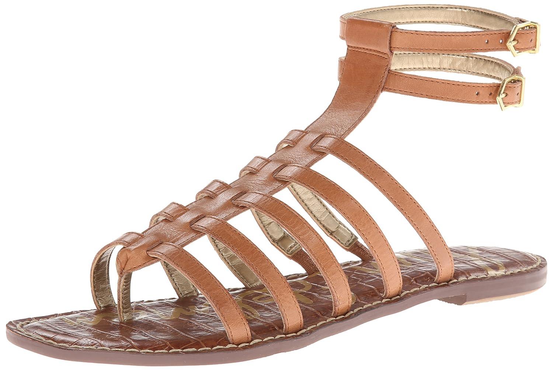 Sam Edelman Women's Gilda Gladiator Sandal B009Q6JAYQ 6.5 B(M) US|Saddle