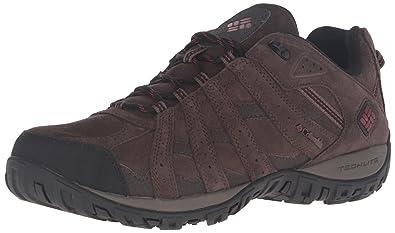 ce3740eca5b Columbia Men s Redmond Leather Omni-tech Low Rise Hiking Shoes ...