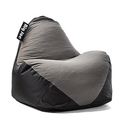 Wondrous Big Joe 1180285 Warp Bean Bag Black Dark Grey Alphanode Cool Chair Designs And Ideas Alphanodeonline