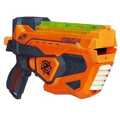 NERF Zombie Strike Fusefire Blaster: Toys & Games