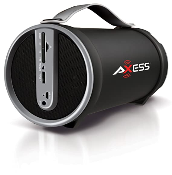 Review AXESS SPBT1033 Portable Bluetooth
