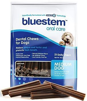 Amazon.com: Masticables dentales para perros: palillos de ...
