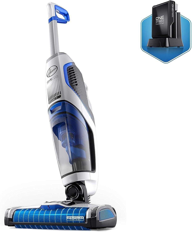 Hoover ONEPWR Cordless FloorMate Jet Hard Floor Cleaner, Wet Vacuum, BH55210, White (Renewed)