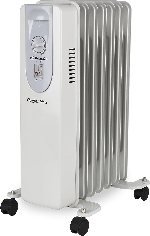 Orbegozo RP 1500 - Radiador de aceite, 7 elementos, 1500 W: Amazon ...