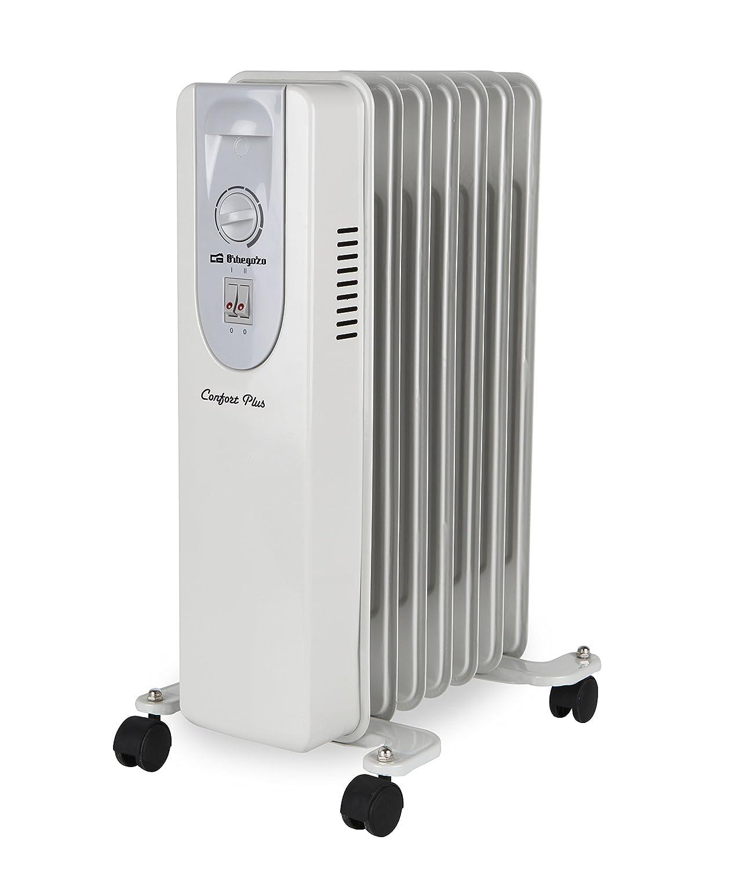 Orbegozo RP 1500 - Radiador de aceite, 7 elementos, 1500 W