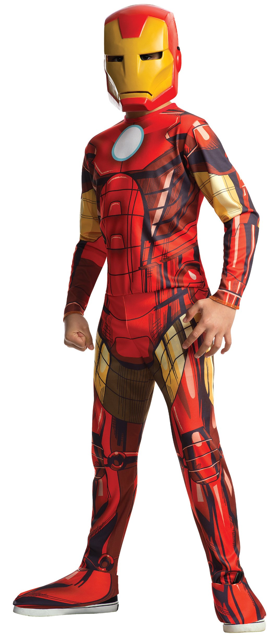 Rubies Marvel Universe Classic Collection Avengers Assemble Iron Man Costume, Child Small