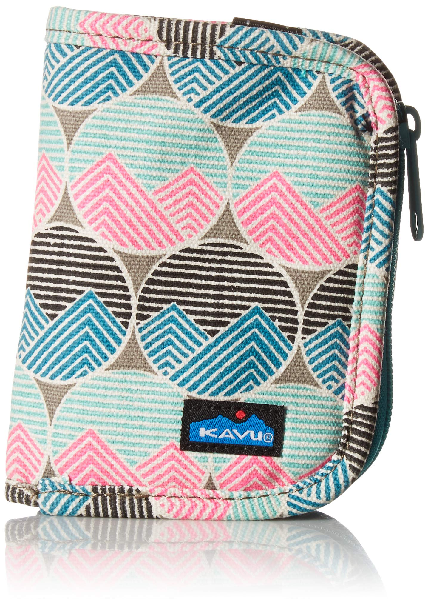 KAVU Women's Zippy Wallet, Horizon Dots, One Size