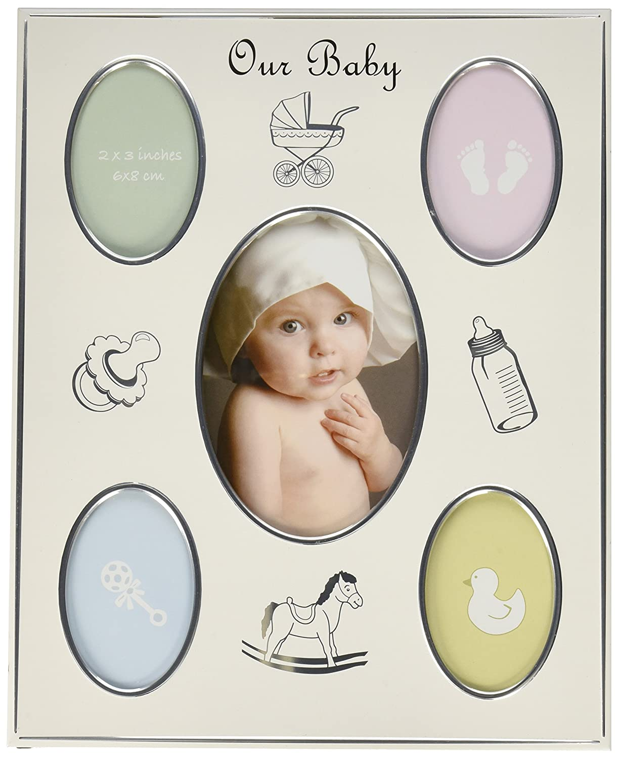Fashioncraft Baby Collage Aluminum Frame from Gifts 12542