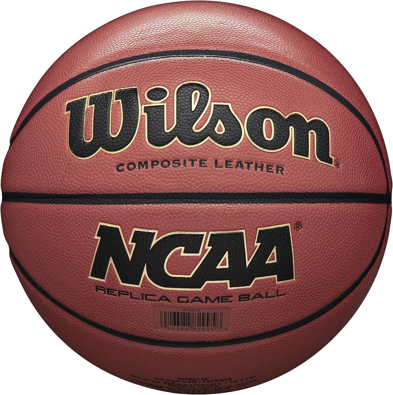 "Wilson NCAA Replica Game Basketball, Official - 29.5"" : Sports & Outdoors"